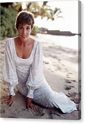Hawaii, Julie Andrews, 1966 Canvas Print by Everett