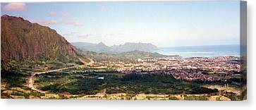 Hawaii Overlook Canvas Print