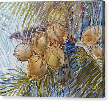 Hawaiian Cluster Canvas Print by Louise Peardon