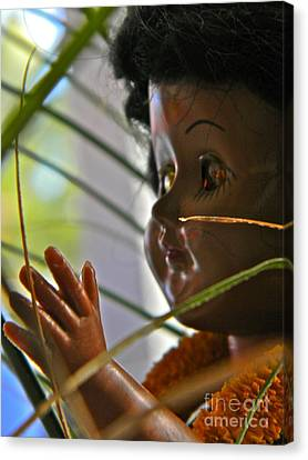 Hawaiian Doll Canvas Print by Anita V Bauer