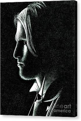 Haymitch Abernathy Canvas Print