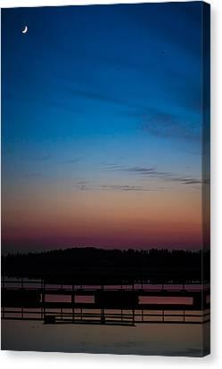 Canvas Print featuring the photograph Hazynezz 2 by Matti Ollikainen