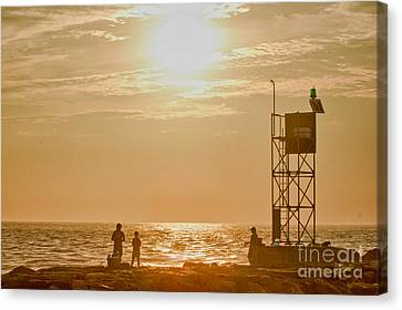 Hdr Beach Ocean Scenic Fishing Sunrise Photo Pictures Buy Sell Selling New Photography Oceanview Pic Canvas Print by Pictures HDR
