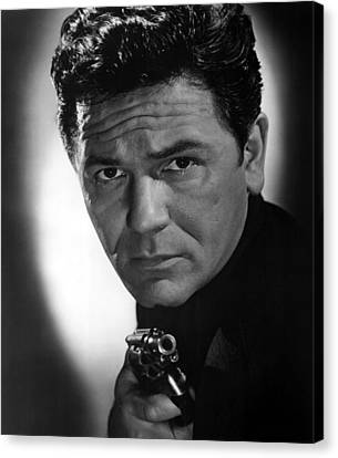 1951 Movies Canvas Print - He Ran All The Way, John Garfield, 1951 by Everett