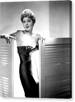 He Ran All The Way, Shelley Winters Canvas Print by Everett