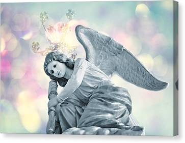 He Will Give His Angels Charge Of You . . . Canvas Print