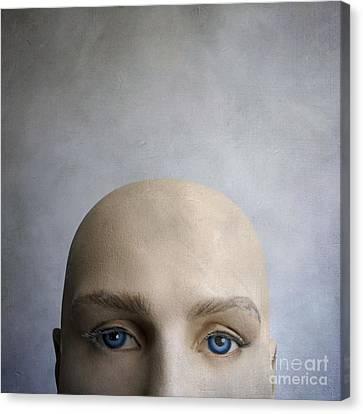 Head Of A Dummy. Canvas Print by Bernard Jaubert