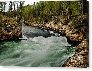 Heading For The Fall Canvas Print by Robert Bales