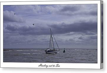Heading Out To Sea Canvas Print by Nigel Jones