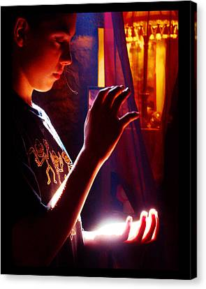 Canvas Print featuring the photograph Healing Hands by Susanne Still