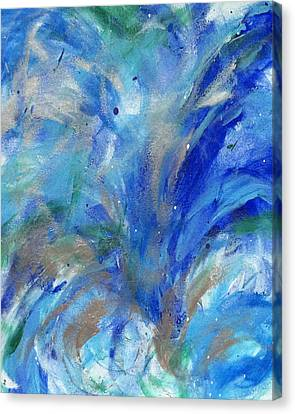 Healing Waves Canvas Print by Bethany Stanko