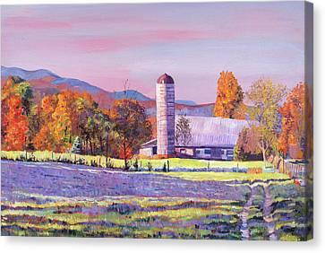 Heartland Morning Canvas Print by David Lloyd Glover