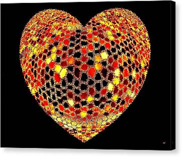 Heartline 7 Canvas Print