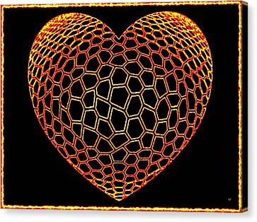 Heartline 9 Canvas Print