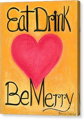 Heartww062 Canvas Print by Patricia 'Amber' Sorenson