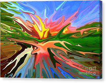 Heat Wave Canvas Print by Chris Butler