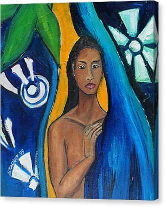 Heather 98 Canvas Print by Bradley