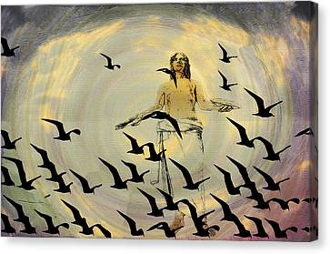 Heaven Sent Canvas Print by Bill Cannon