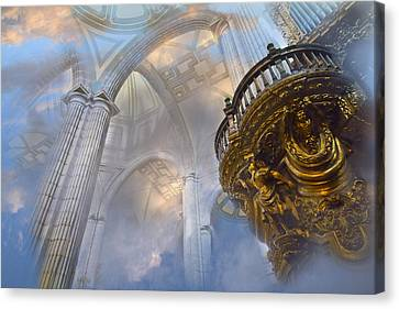 Heavenly Cathedral Canvas Print