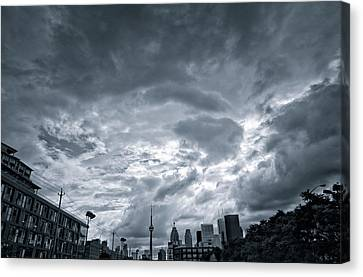 Heavy Sky Canvas Print by Luba Citrin