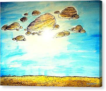 Heavy Weather Canvas Print by Paulo Zerbato