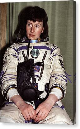 Helen Sharman, British Astronaut Canvas Print by Ria Novosti