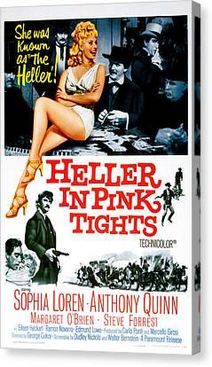 Heller In Pink Tights, Sophia Loren Canvas Print