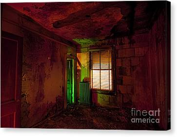 Hells Room Service Canvas Print by Keith Kapple