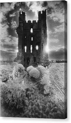 Helmsley Castle Canvas Print by Simon Marsden