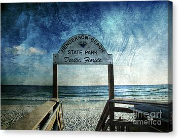 Henderson Beach State Park Florida Canvas Print by Susanne Van Hulst