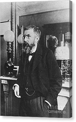 Henri Poincare, French Polymath Canvas Print by Science Source