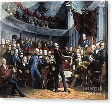 Great Compromise Canvas Print - Henry Clay, 1850 by Granger