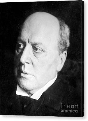 Henry James, American-born British Canvas Print by Photo Researchers