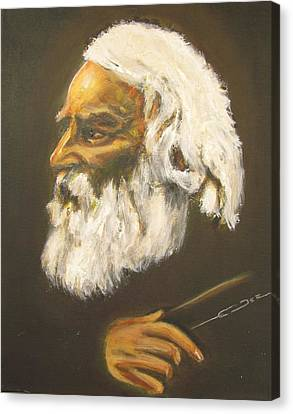 Henry Wadsworth Longfellow Canvas Print by Eric Dee