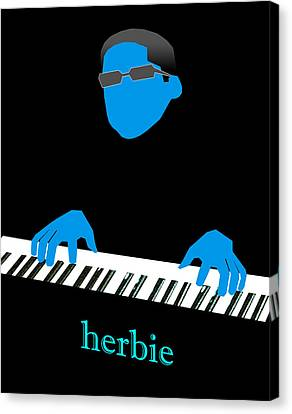 Canvas Print - Herbie Blue by Victor Bailey