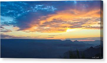 Here Comes The Sun Canvas Print by Heidi Smith