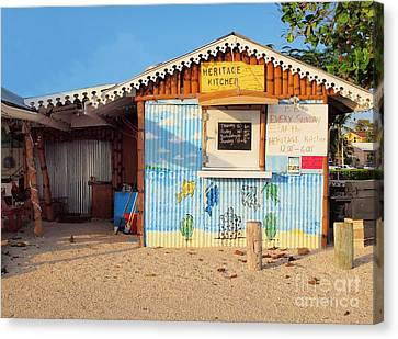 Heritage Kitchen Grand Cayman Canvas Print by James Brooker