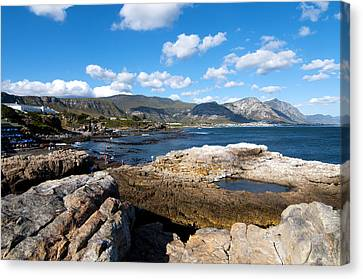 Hermanus Coastline Canvas Print by Fabrizio Troiani
