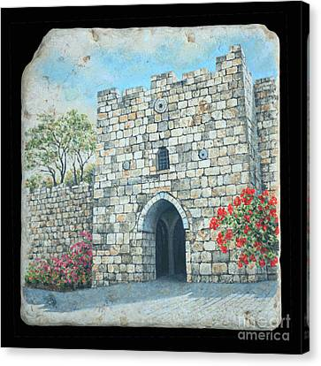 Herod's Gate Canvas Print