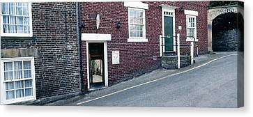 Hexham Chiropractor Canvas Print by Jan W Faul