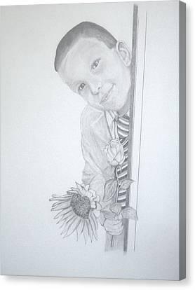 Hi Mum Canvas Print by Peter Edward Green