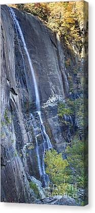 Hickory Nut Falls Chimney Rock State Park Canvas Print by Dustin K Ryan