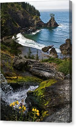 Hidden Cove Canvas Print by Jake Johnson