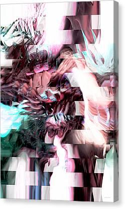Hidden Dimensions Canvas Print by Linda Sannuti