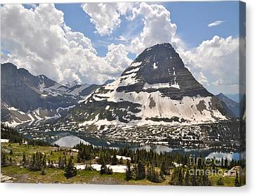 Canvas Print featuring the photograph Hidden Lake  by Johanne Peale