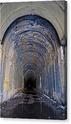 Hidden Tunnel Canvas Print by Fran Riley