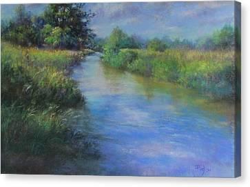 Hidden Waters Canvas Print