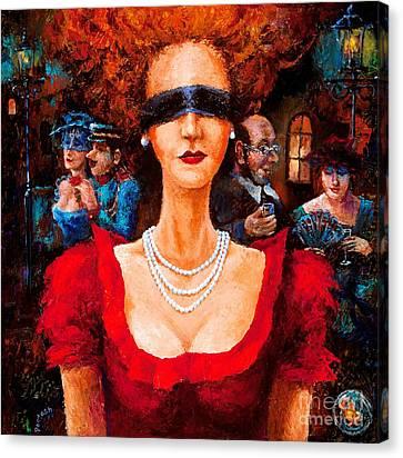 Hide And Seek Canvas Print by Igor Postash