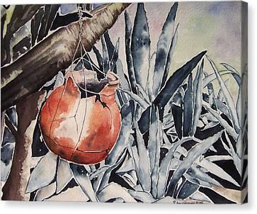 Hide And Seek Canvas Print by Regina Ammerman