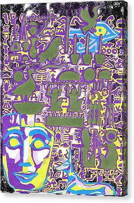 Hieroglyphics Canvas Print by Ben Leary